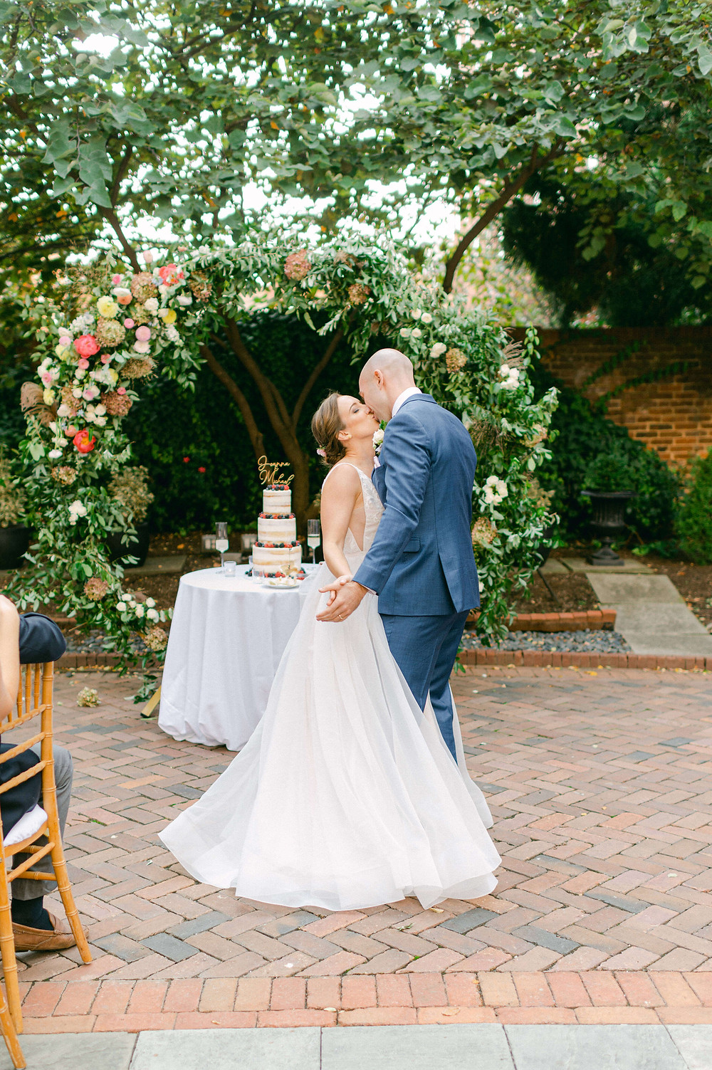 decatur house courtyard wedding