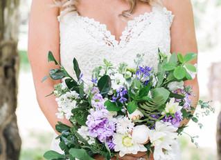 Lavender Rust Manor Wedding