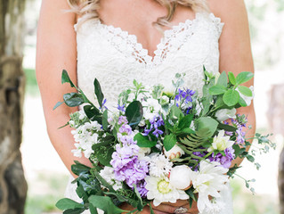 Lavender Rust Manor Wedding