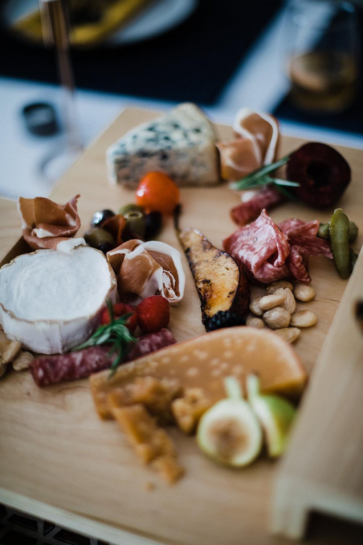 luxe foodie wedding