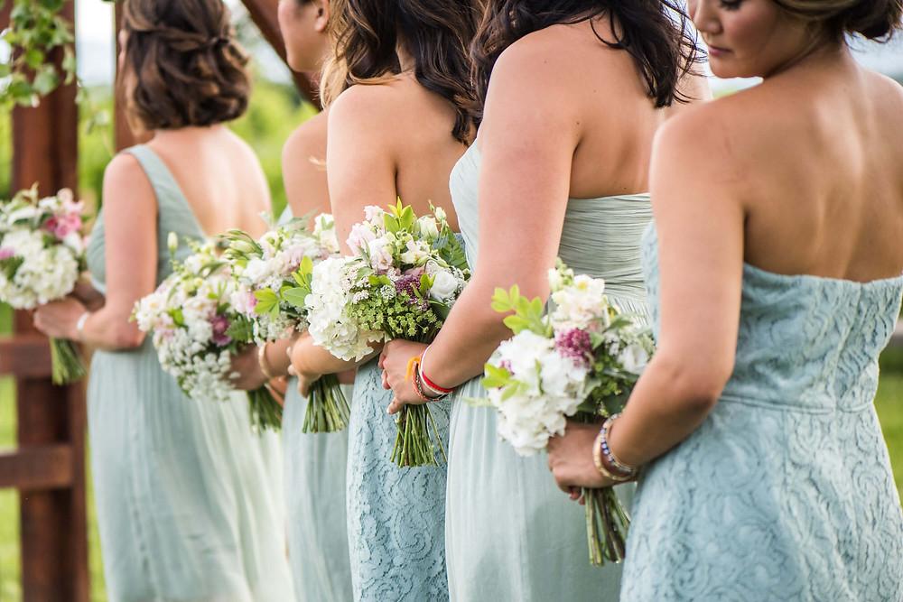 virginia bridesmaid bouquets