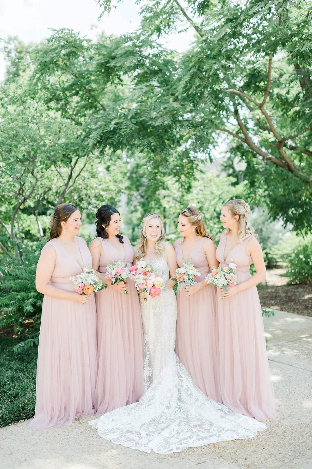 washington dc pink and white wedding