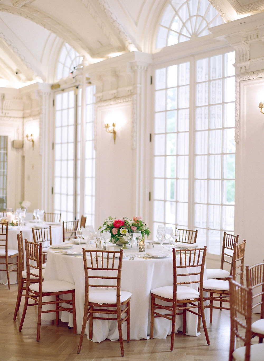 DAR constitution hall pink wedding