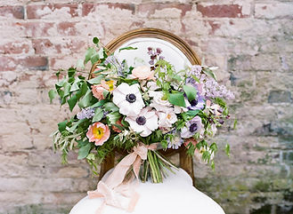 boho ombre bouquet