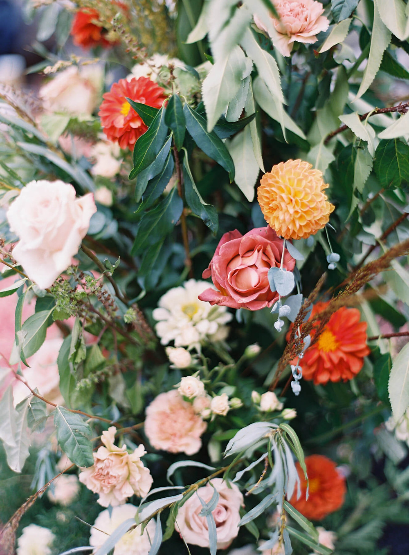 muted fall charlottesville wedding