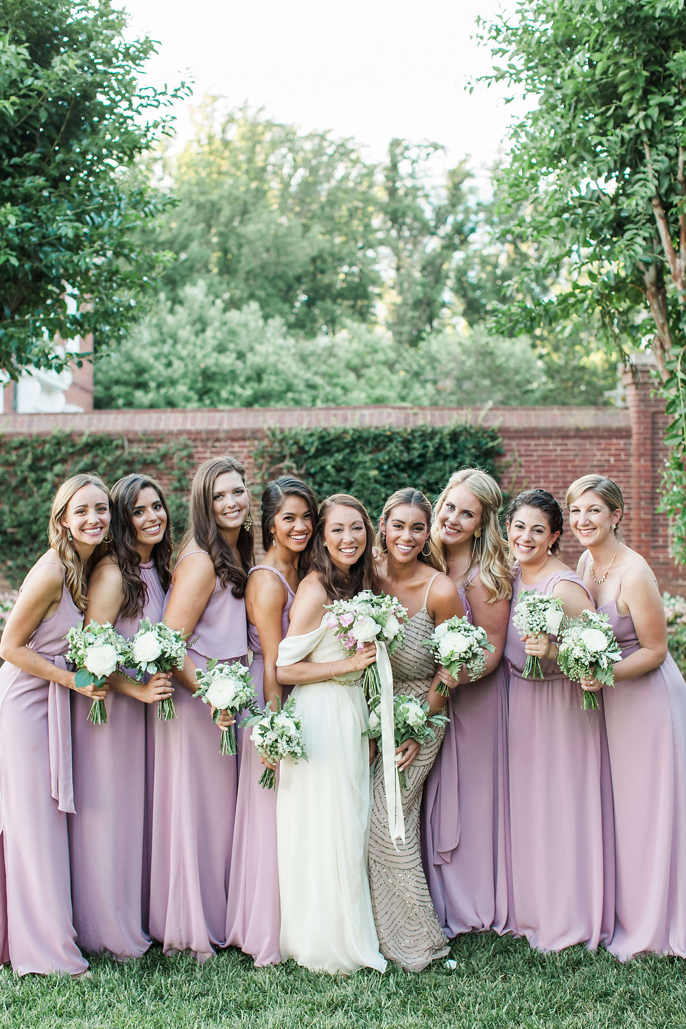 lavender bridesmaids maryland
