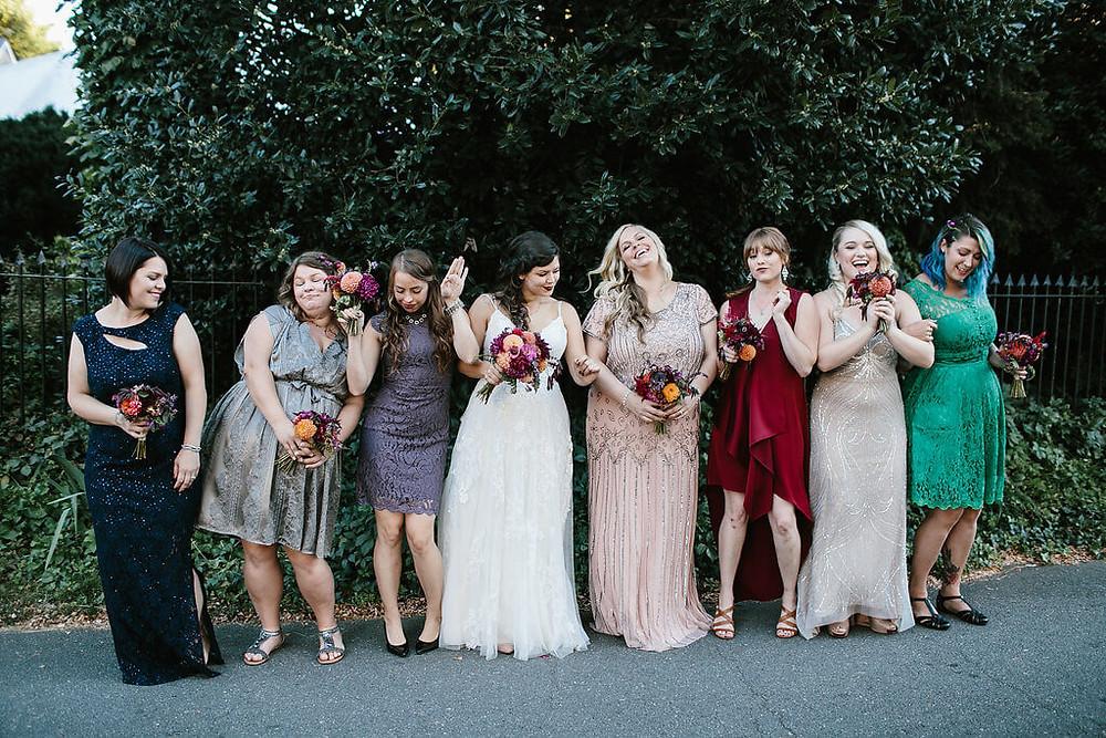virginia bridesmaids bouquets
