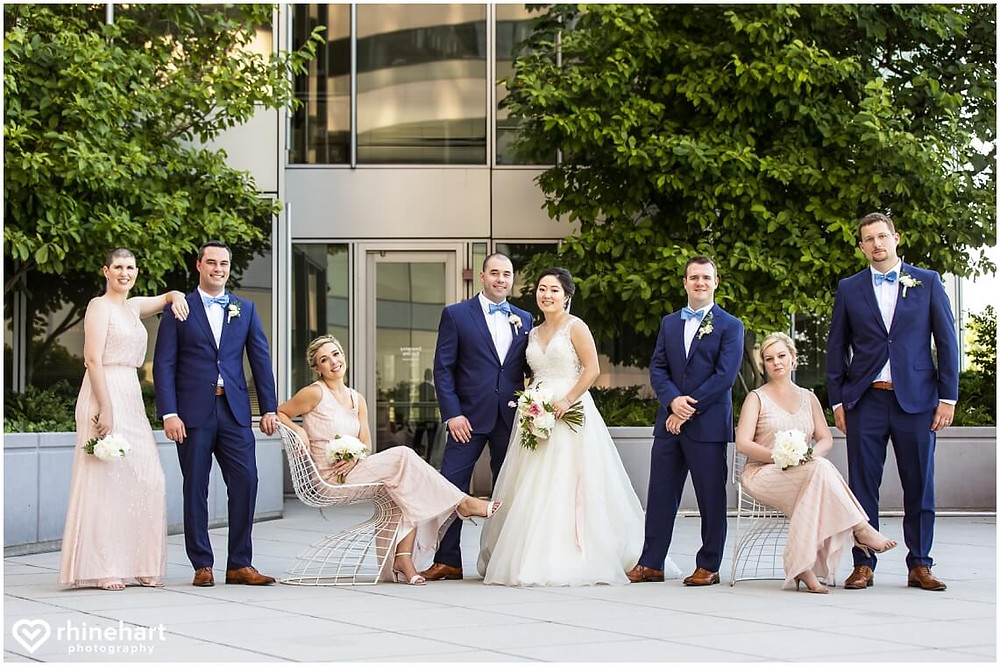 le meridien arlington summer wedding