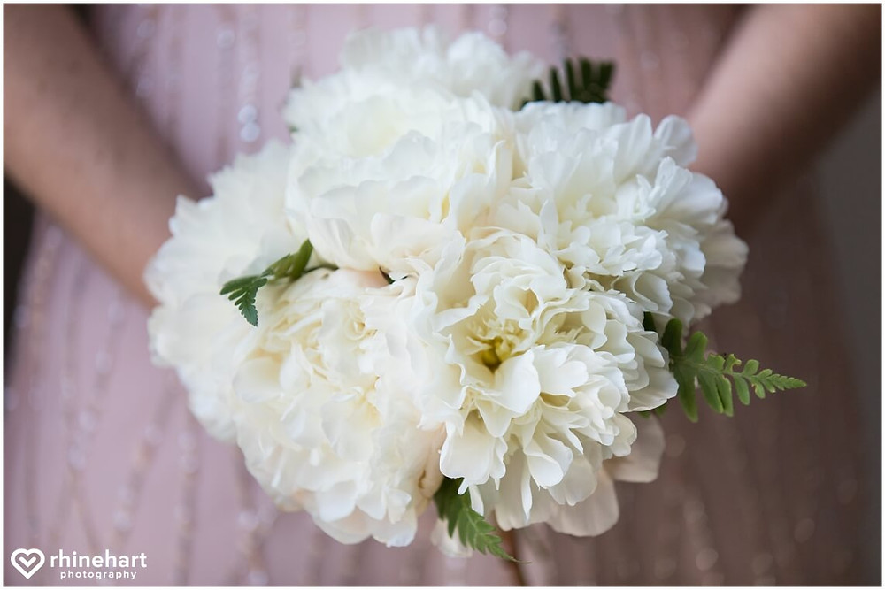 white peony bouquet washington dc