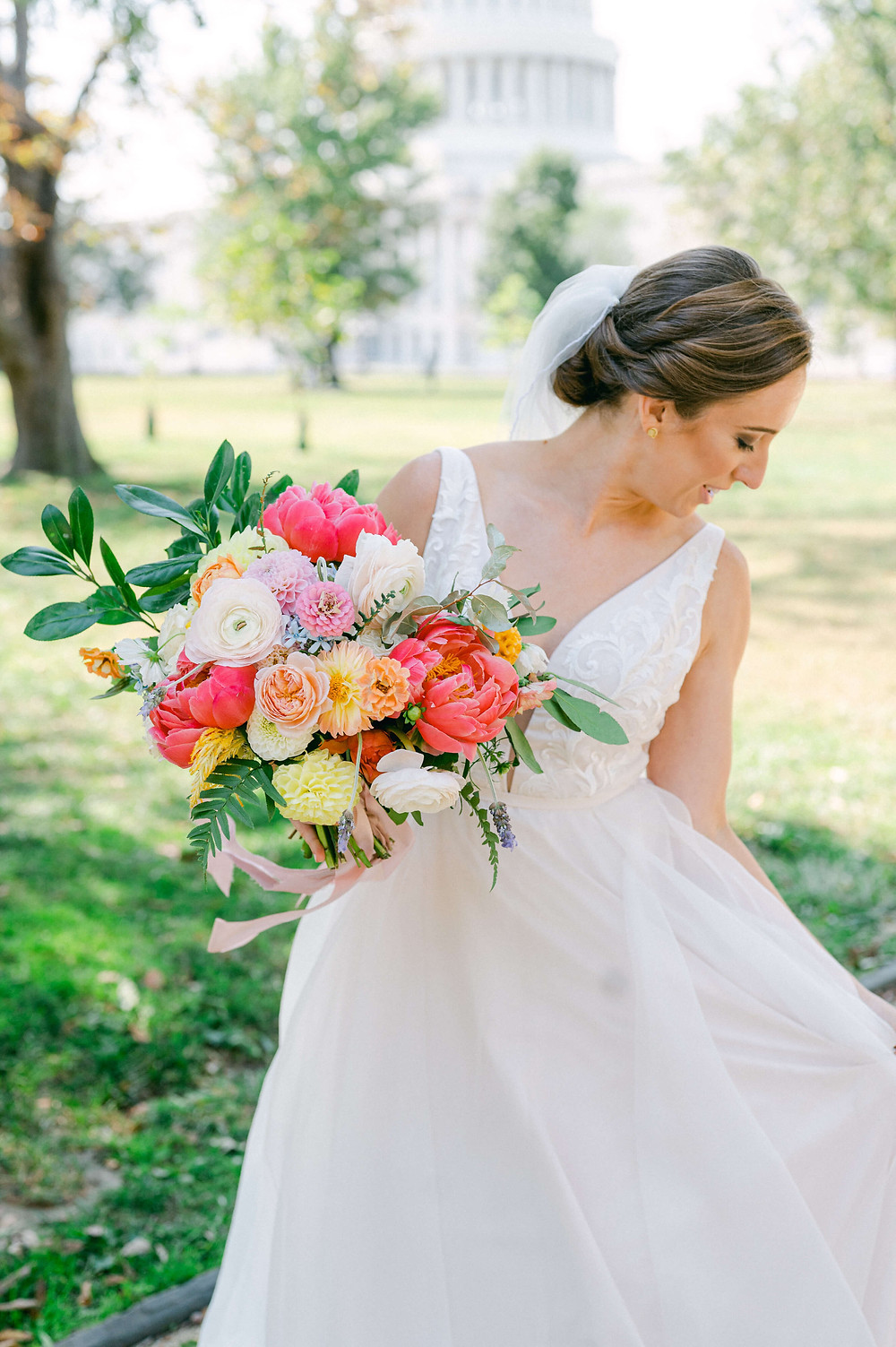 fall washington dc wedding