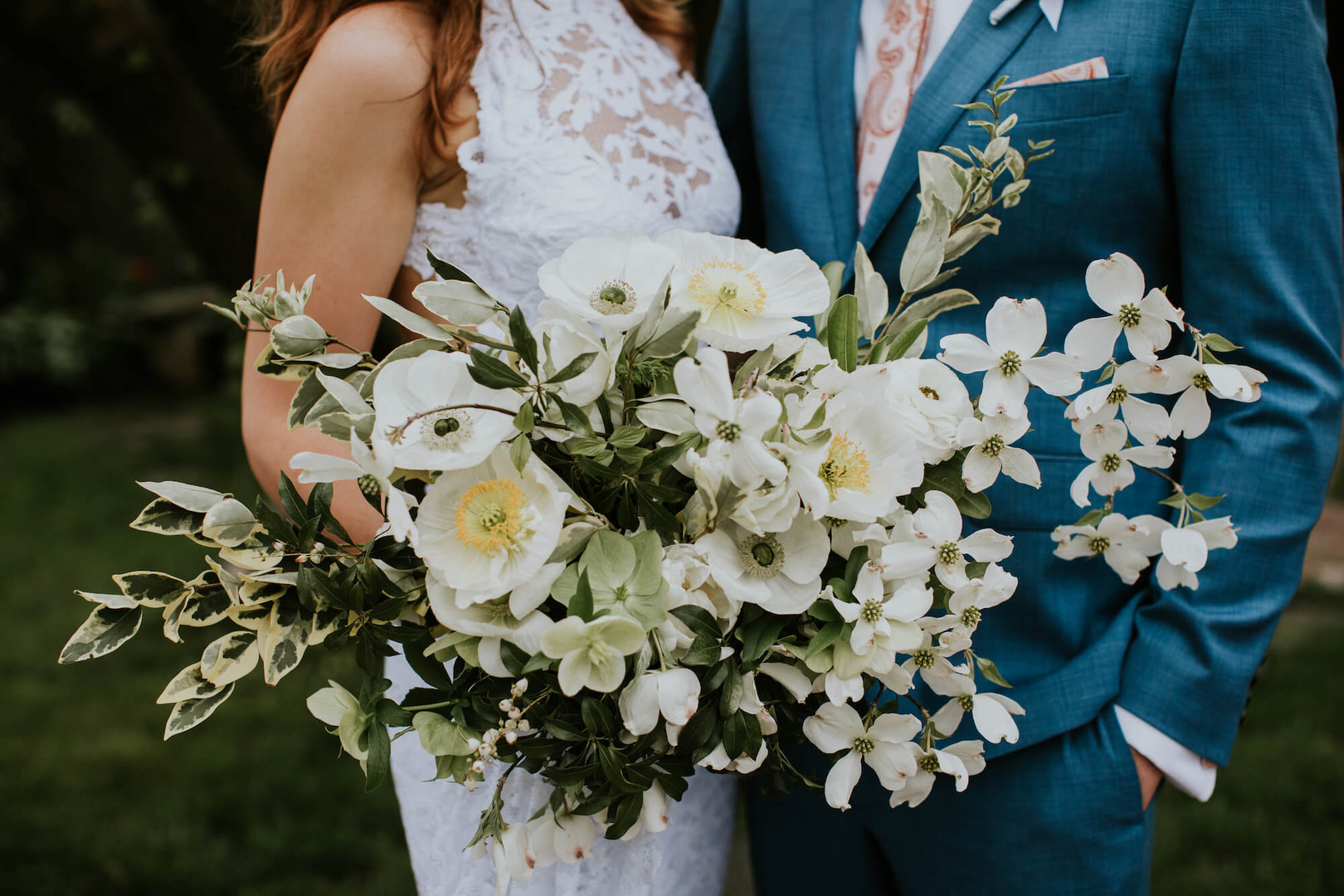 virginia dogwood bouquet