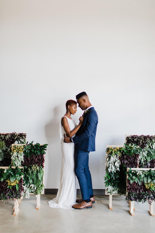 DC Modern Wedding Ceremony