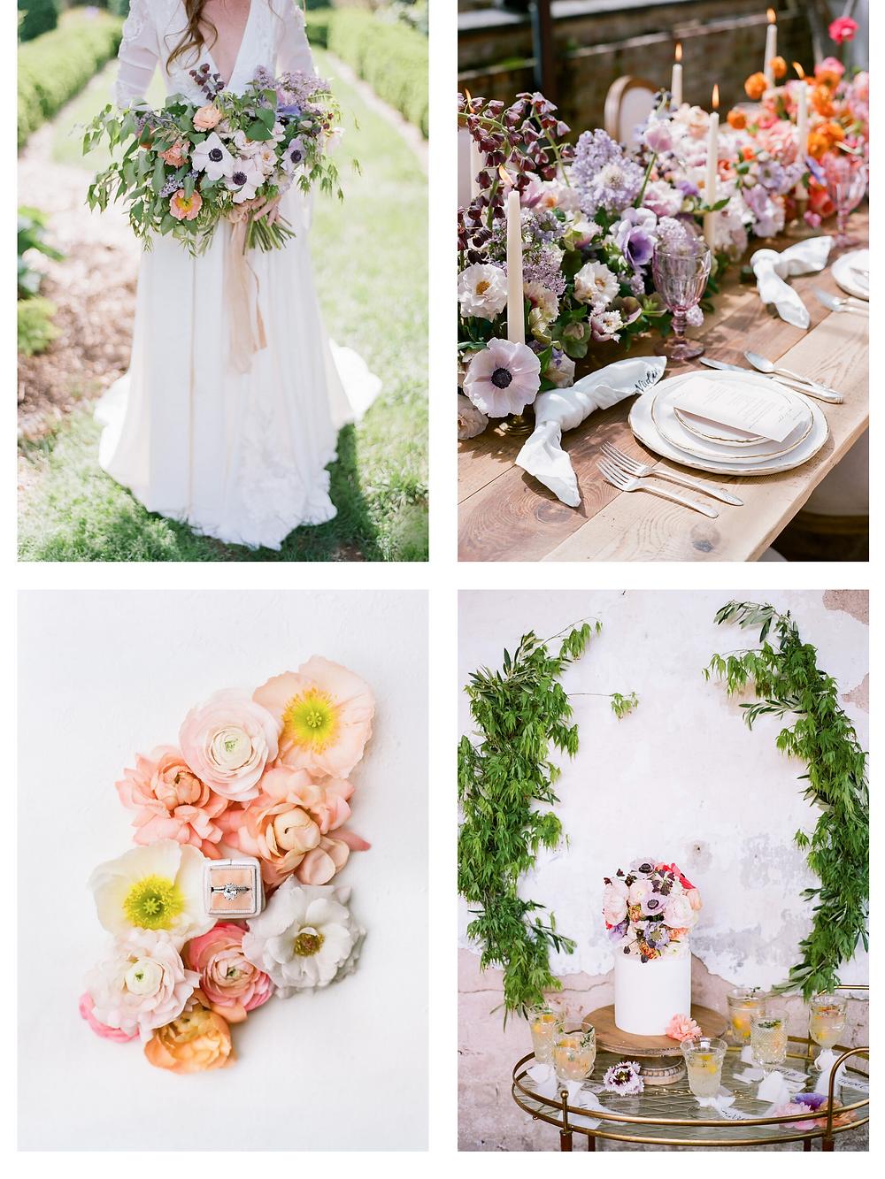 spring leesburg wedding