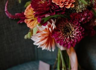 Intimate Orange and Pink Wedding at the Morrison House