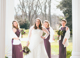 Magical Winter Wedding at the Historic Rosemont