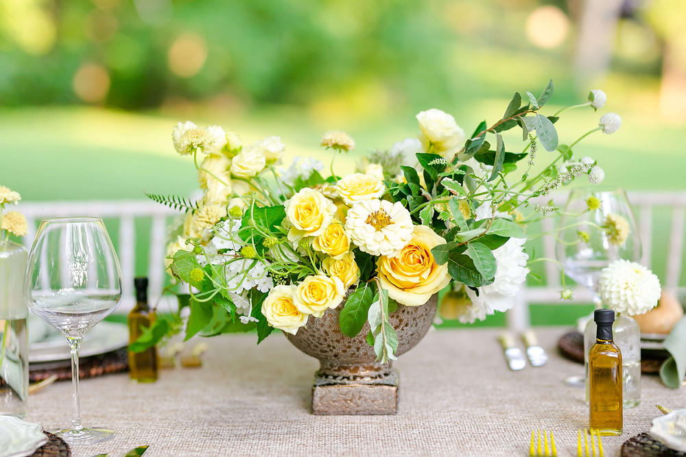 yellow micro wedding leesburg virginia