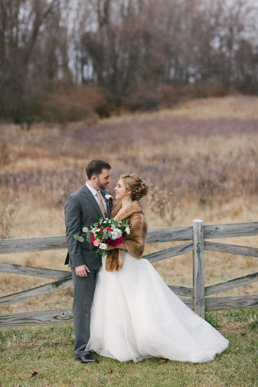 Meadowlark Botanical Gardens Winter Wedding