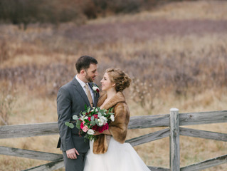 Winter Wedding at Meadowlark Botanical Gardens