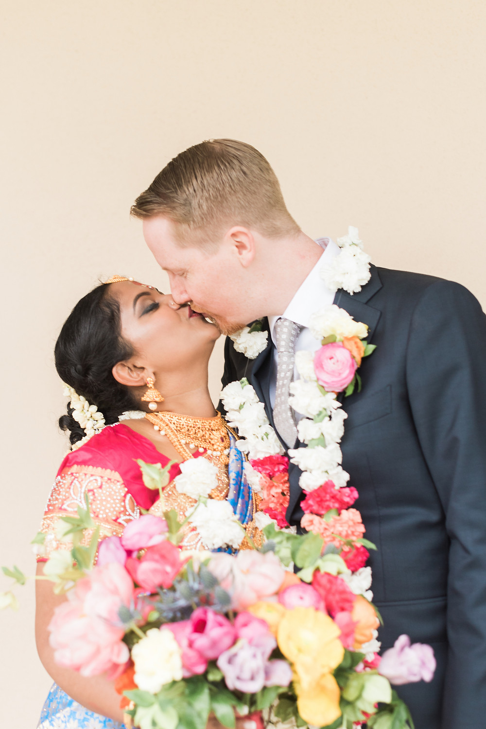 colorful indian wedding riverside on the potomac