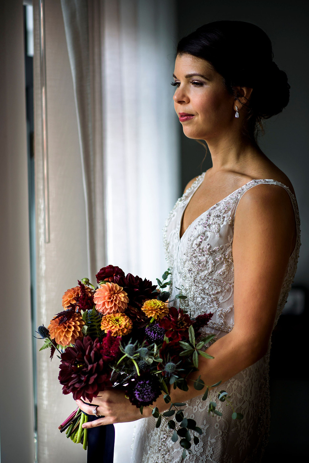 washington dc fall bridal bouquet