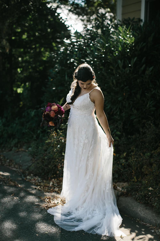 virginia fall bride
