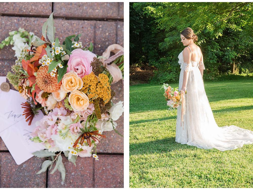 virginia bridal bouquet