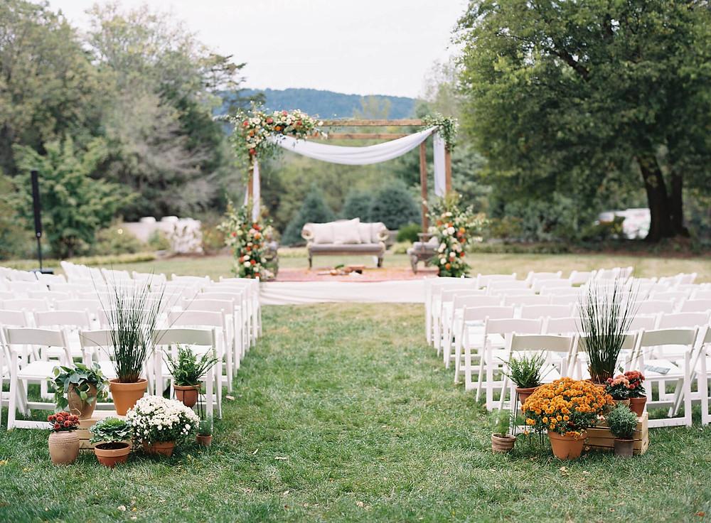 the clifton inn charlottesville wedding