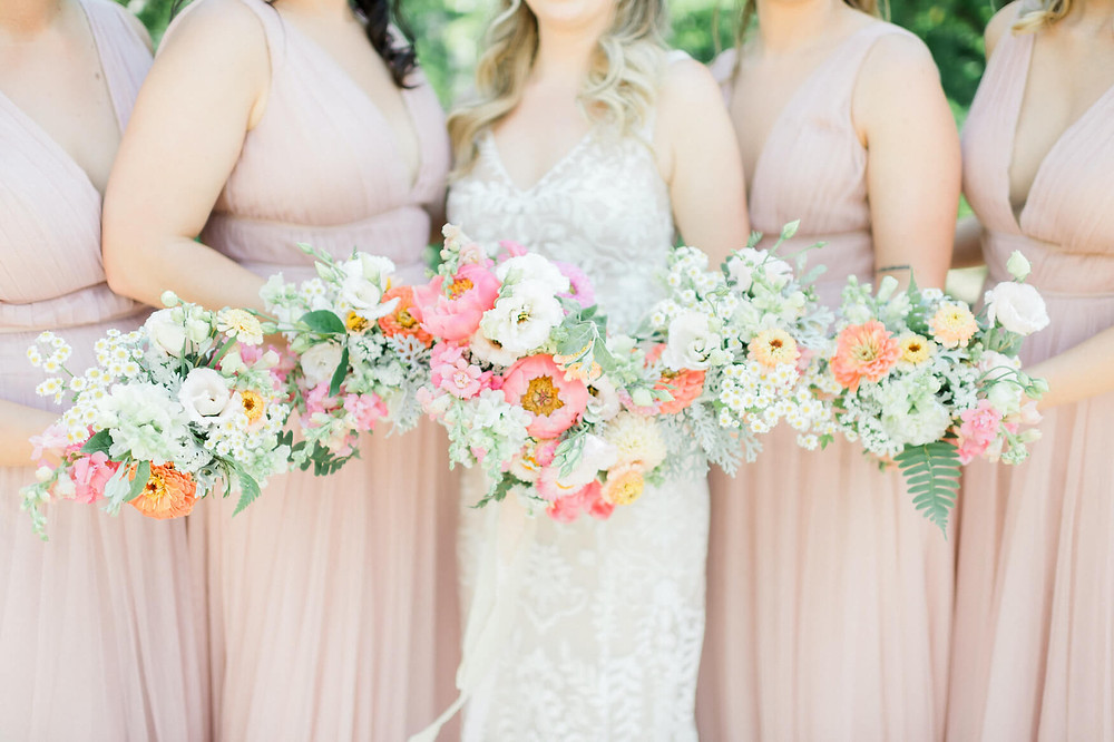 washington dc bright and colorful summer wedding
