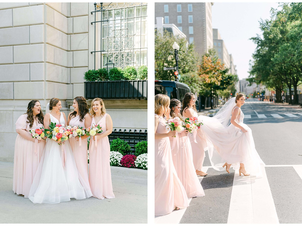 spring washington dc wedding