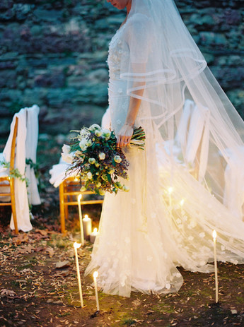 ethereal bridal bouquet