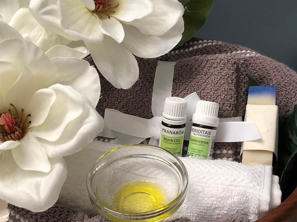 Plant based medicinal food  oil for dry skin!