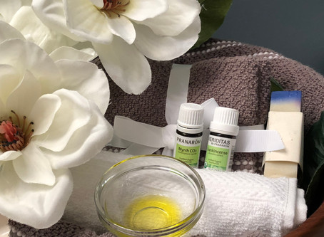 Heal your heels with plant based oils