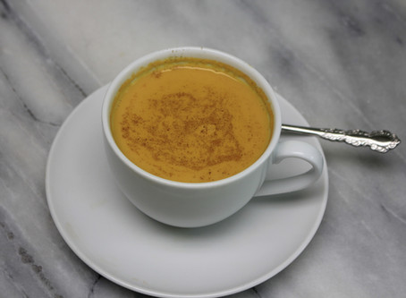 How to make golden milk latte & health benefits