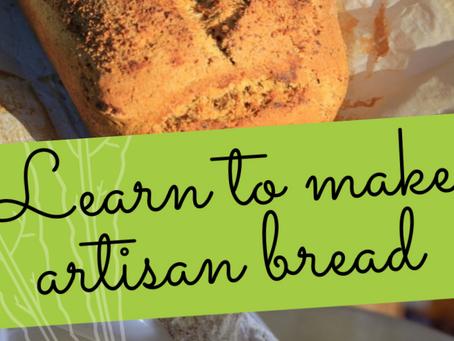 Free Online Class Learn To Make Artisan Bread & Flour