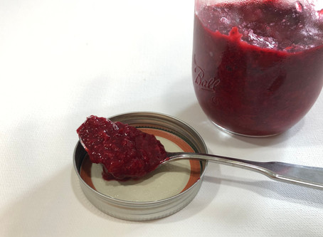 Strawberry or Cherry Pie Jam