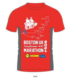 Boston Marathon - Tshirt Artwork -  Runn