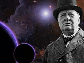 מאמר של צ'רצ'יל שהתגלה לאחרונה עוסק בחיים מחוץ לכדור הארץ