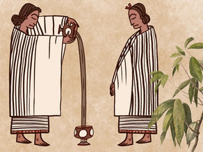 ההיסטוריה של השוקולד, מתנת האלים