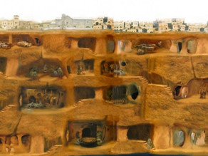דרינקויו: עיר תת-קרקעית עם 18 מפלסים