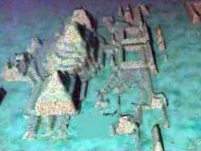 עיר הכוללת פרמידות ענק נחשפה 600 מ' מתחת למים סמוך לחוף קובה