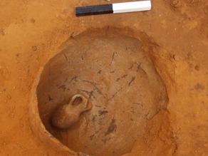 תינוק בן 3,800 התגלה בכד שנחשף ביפו