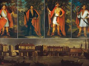 הביקור המלכותי של ארבעת מלכי המוהוק בלונדון