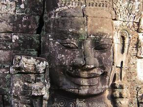חידת הפרצופים של מקדש באיון בקומבודיה