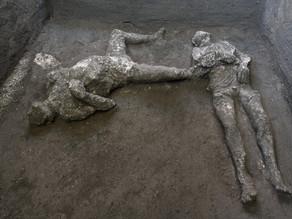 שני קורבנות חדשים התגלו ונוצקו בחפירות בפומפיי