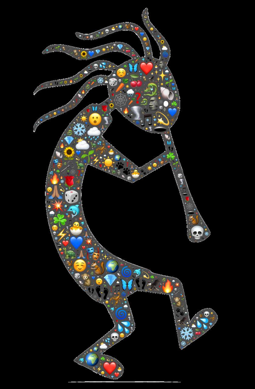 Pixabay Kokopelli Šotek Symbol - Obrázek zdarma