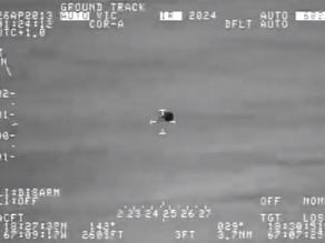 """מה טס באוויר, חותך דרך מים ומתפצל לשניים? מחקר מדעי של תקרית עב""""ם אגואדילה"""