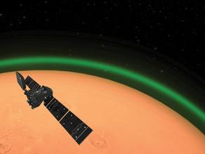 לווין זיהה על מאדים זוהר ירוק שלא נצפה עד כה