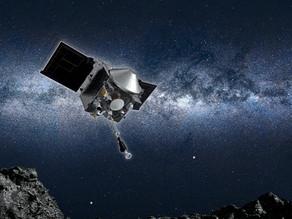 החללית OSIRIS-REx נגעה בהצלחה באסטרואיד