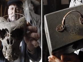 שתי גולגלות מוזרות ומזוודה נאצית התגלו ביער נידח ברוסיה
