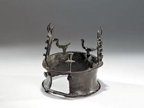 """חידת ה""""כתר"""" בן ה-6000 שנה שנמצא במדבר יהודה"""